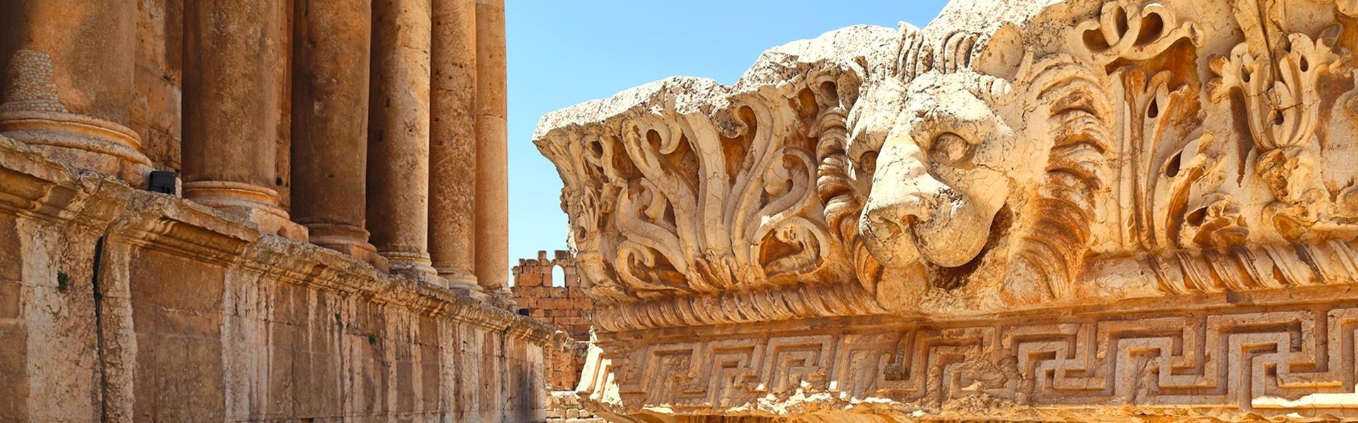 Baalbek in Libanon