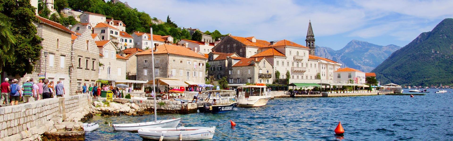 Perast, Montenegro - Foto Peter van de Wiel
