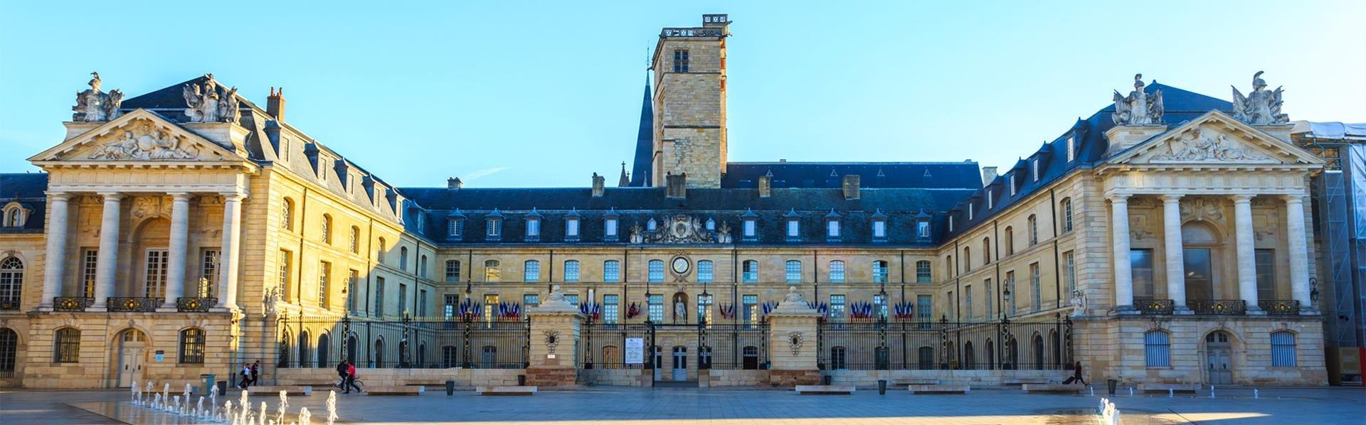 Palais des Ducs in Dijon, Frankrijk