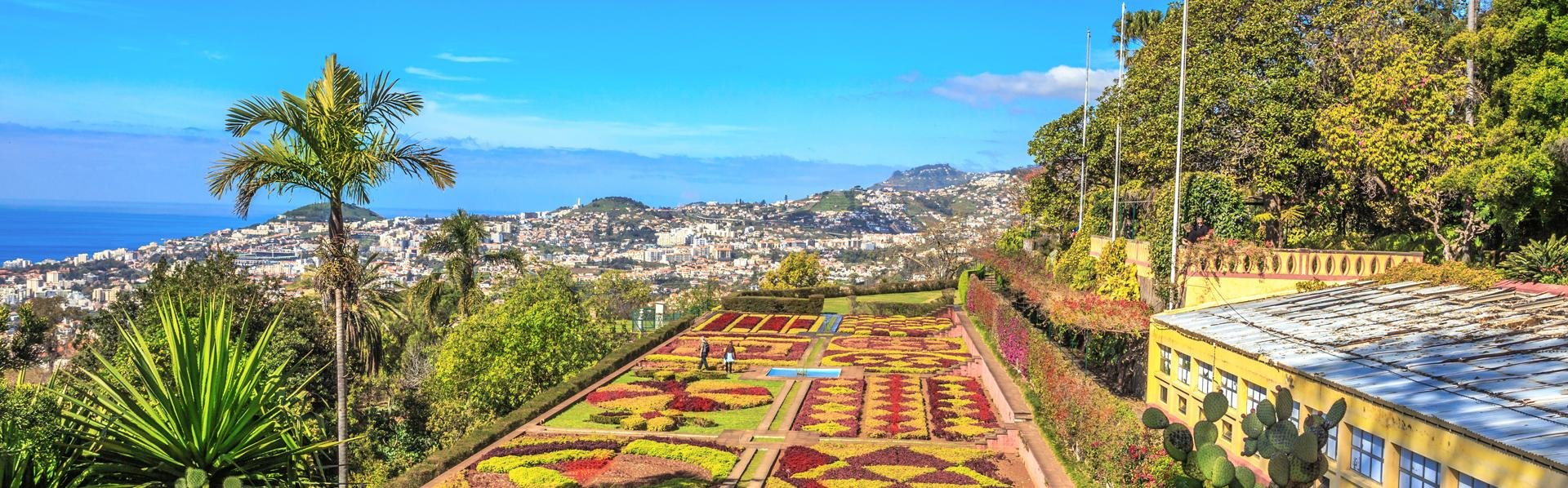 Botanische tuin in Funchal, Madeira, Portugal