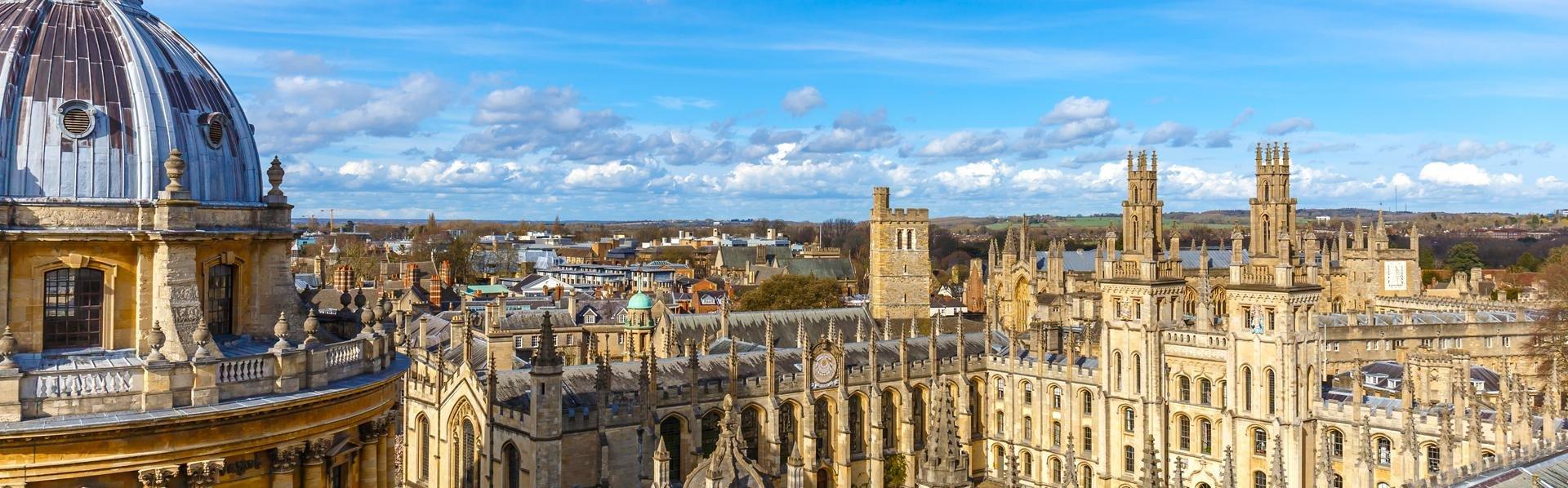 Universiteit van Oxford in Groot-Brittannië