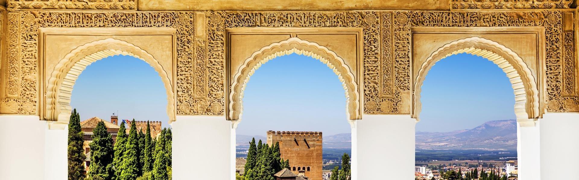Alhambra, Granada, Andalusië, Spanje
