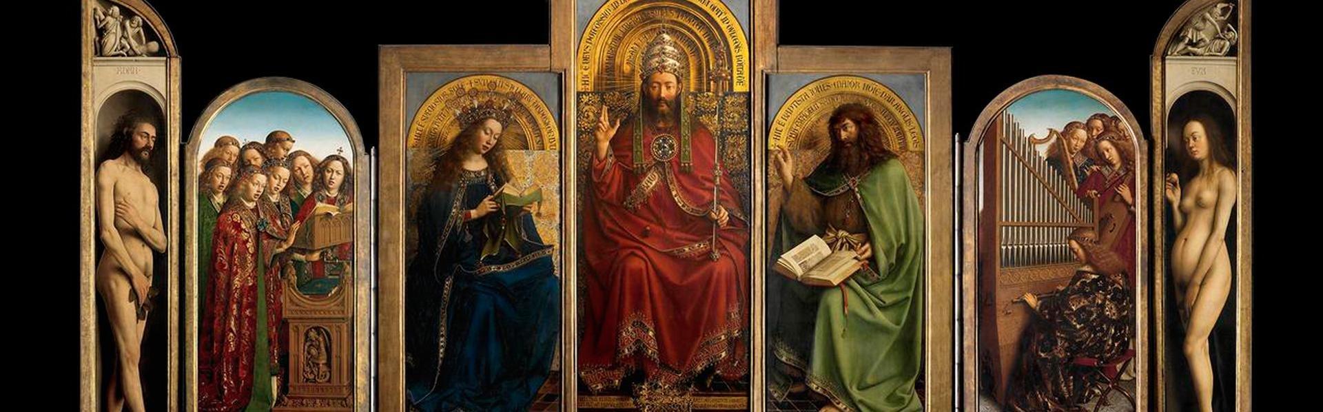 Lam Gods, Van Eyck, in Gent, België