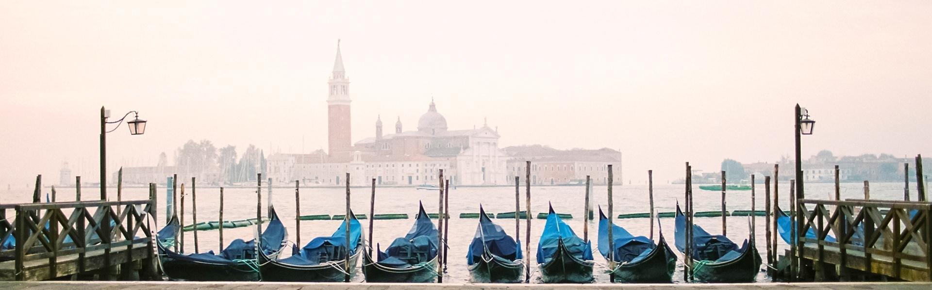 Winter in Venetië, Italië