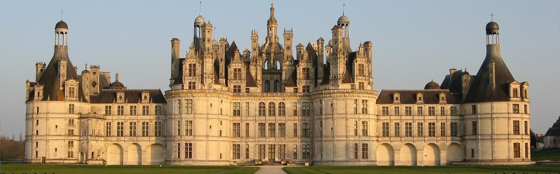 Château Chambord in Frankrijk