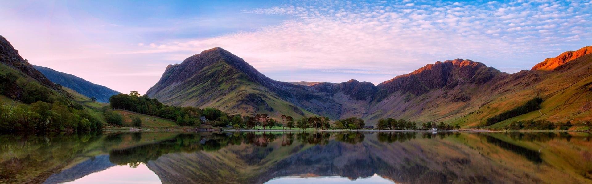 Buttermere Lake, Lake District, Cumbria, Groot-Brittannië