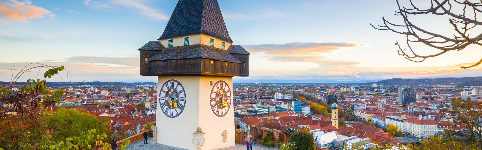 Schlossberg in Graz, Oostenrijk