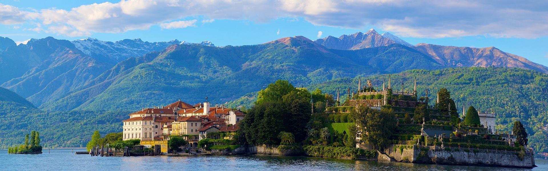 Isola Bella in Lago Maggiore, Italië