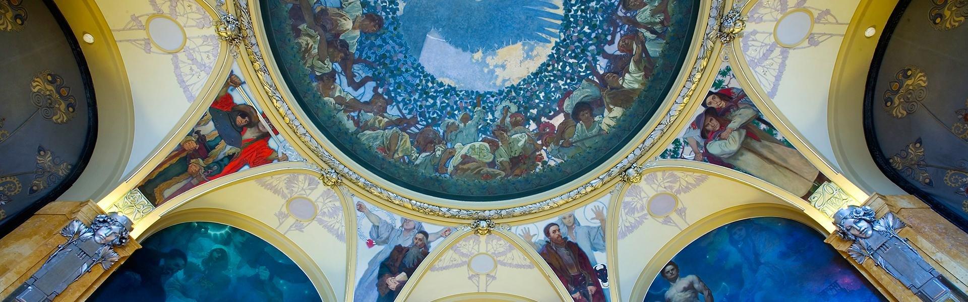 Obecni Dum in Praag, Tsjechië