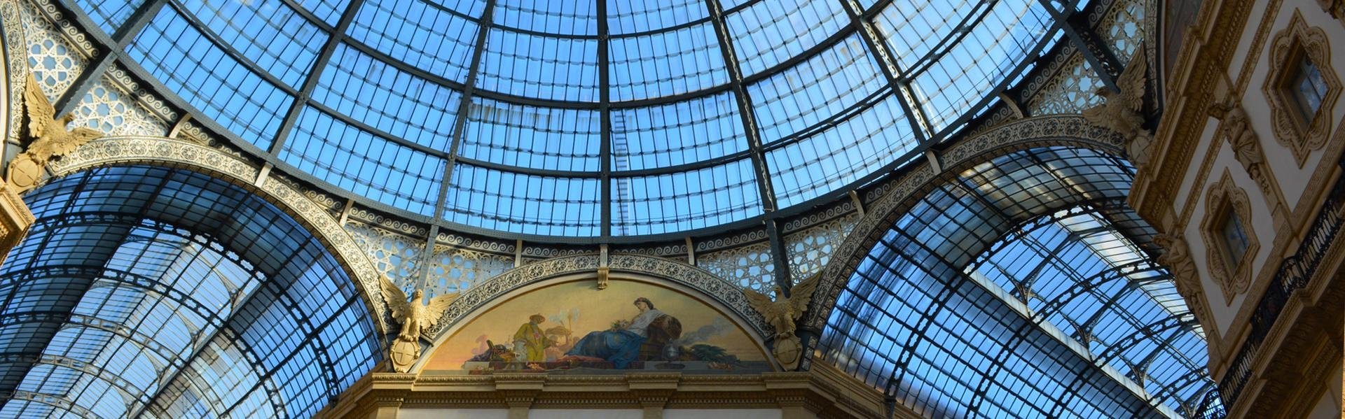 Galleria Vittorio Emanuele in Milaan, Italië