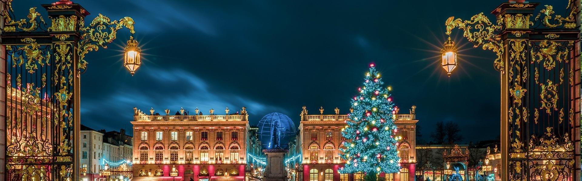 Kerst in Nancy, Frankrijk