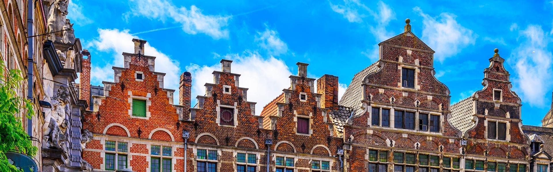De Korenmarkt in Gent, België