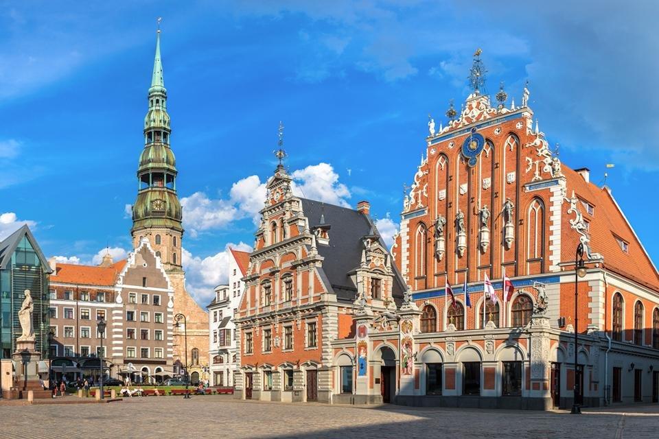 Huis van de Mee-eters in Riga, Letland