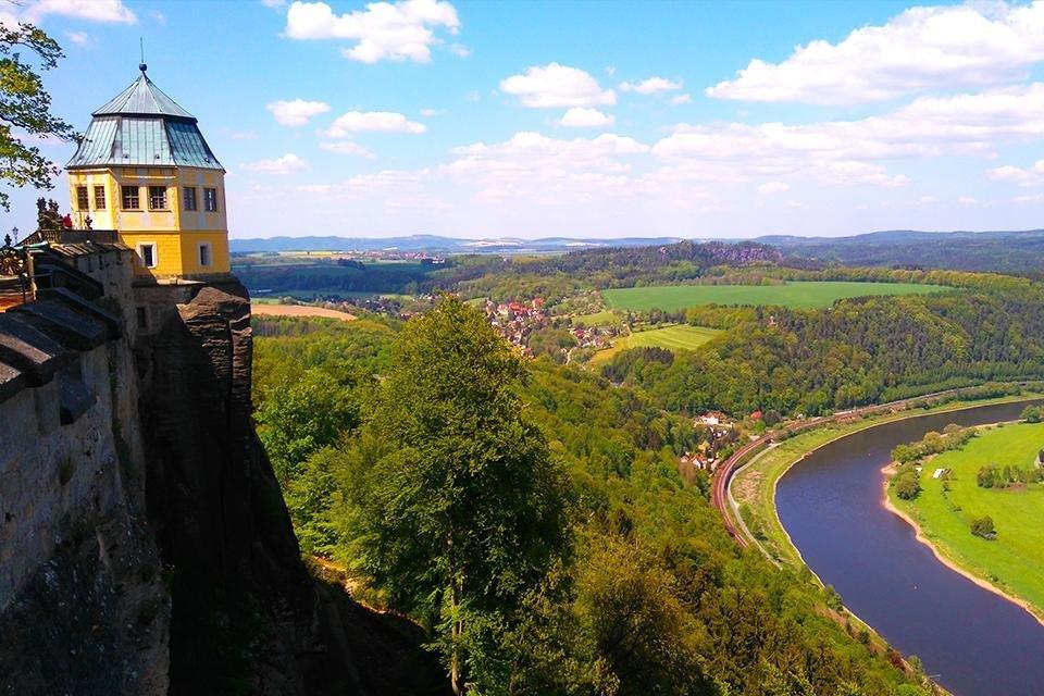 Festung Königstein, Saksen, Duitsland