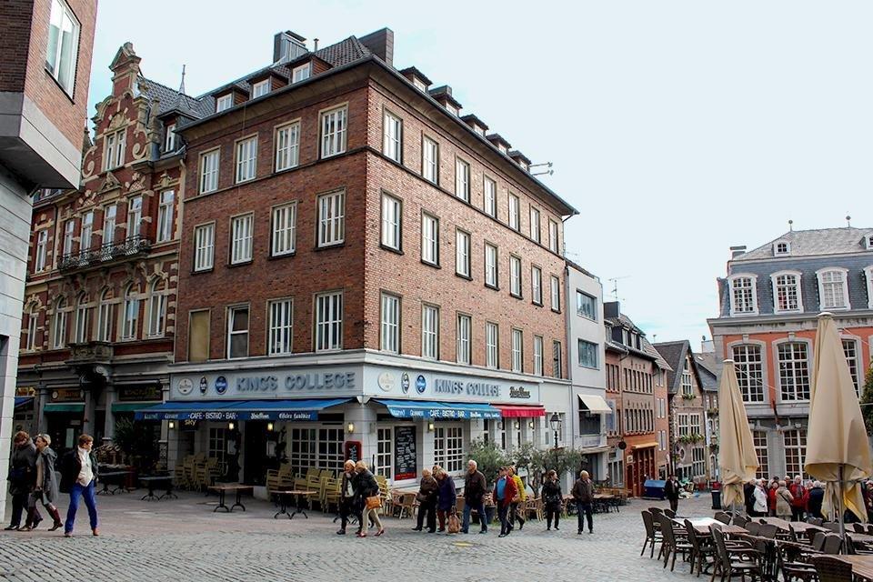 Centrum van Aken, Duitsland