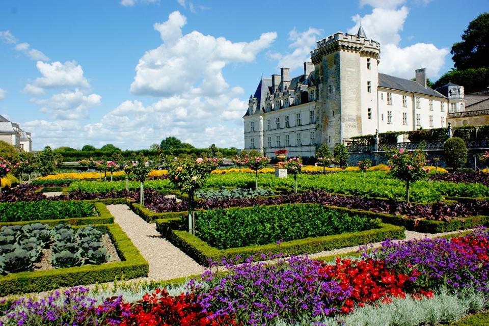 Kasteel Villandry in Frankrijk