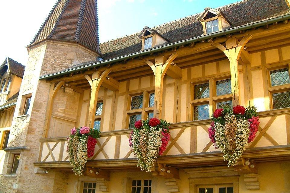 Wijnmuseum in Beaune. Frankrijk