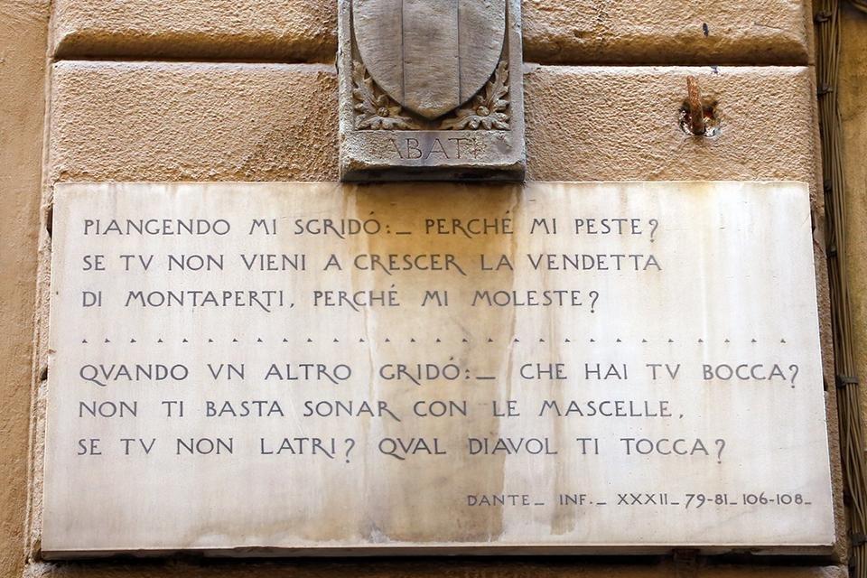 Dante, De goddelijke komedie, Florence, Italië