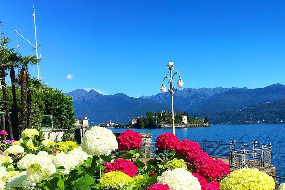 Stresa aan het Lago Maggiore, Italië