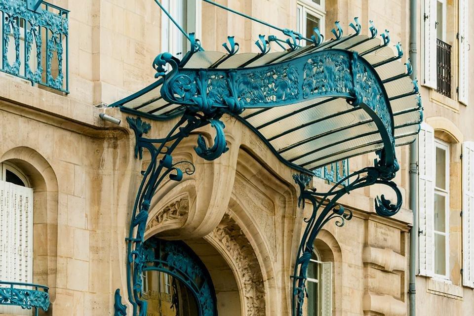 Art nouveau in Nancy, Frankrijk