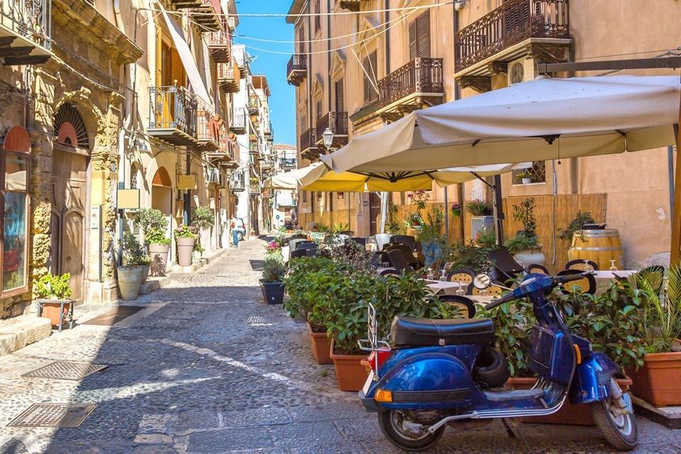 Cefalù op Sicilië, Italië
