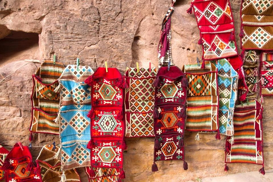 bedoeïenenkleden in Jordanië