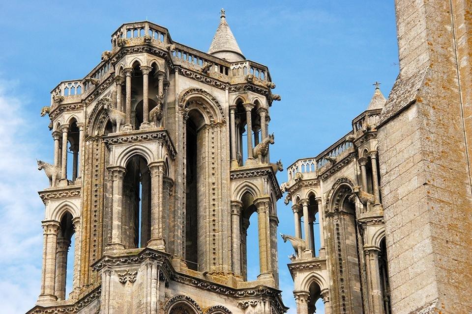Kathedraal van Laon in Frankrijk