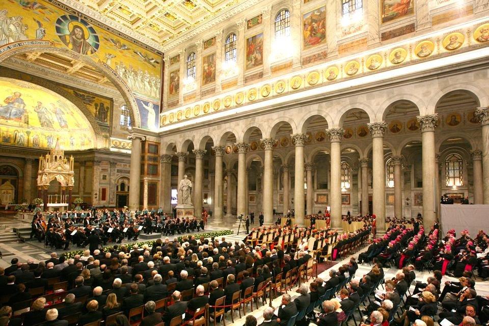 Rome Musica Sacra in San Paolo fuori le mura © Fondazione pro Musica e Arte Sacra