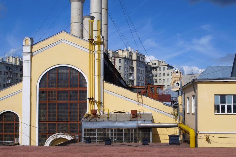 GES-2 in Moskou, Rusland