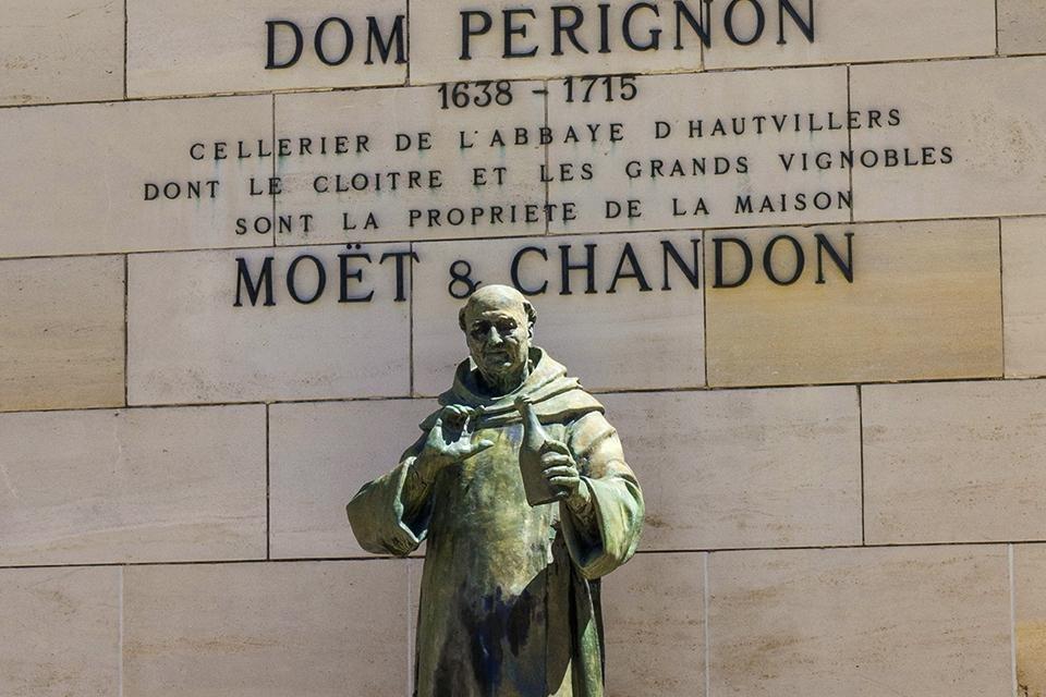Épernay, Dom Pérignon, Frankrijk
