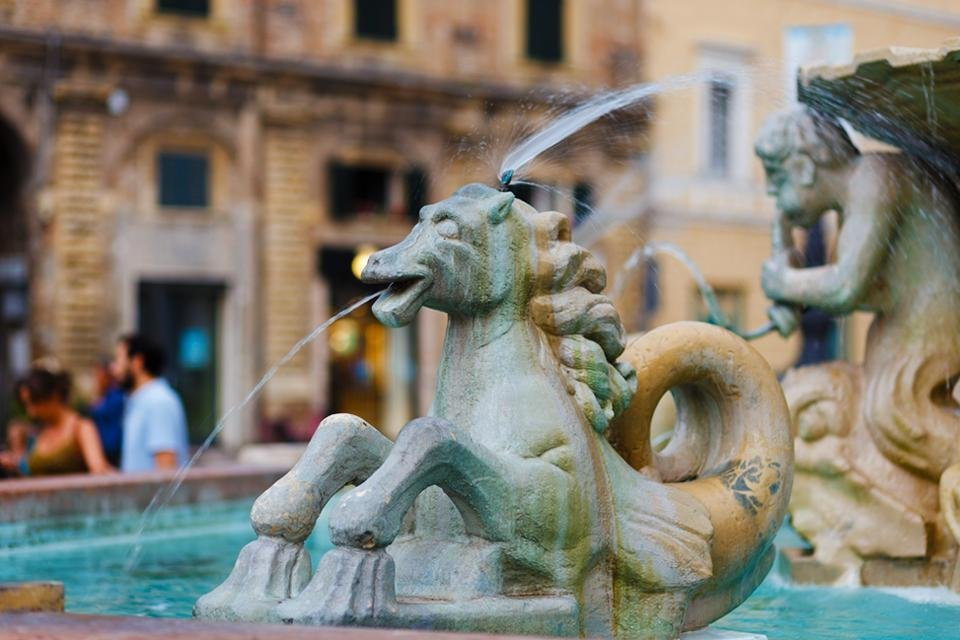 Pesaro, De Marken, Italië