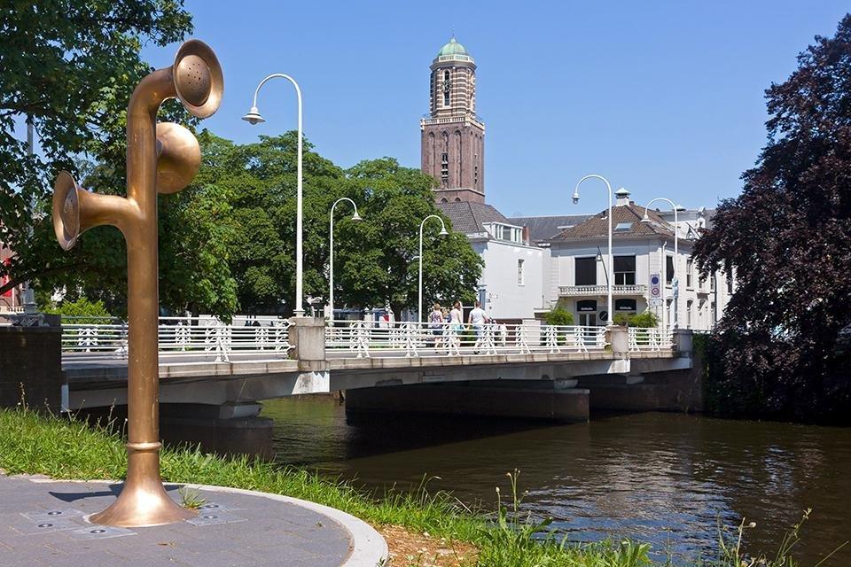 Peperbus in Zwolle, Nederland