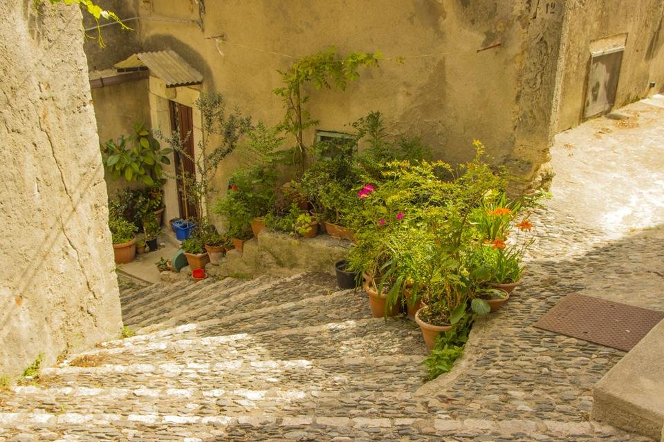Gerace, Italië