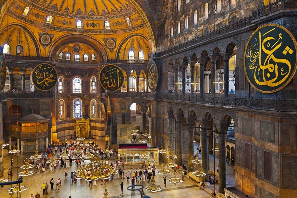 Haghia Sophia in Istanbul, Turkije