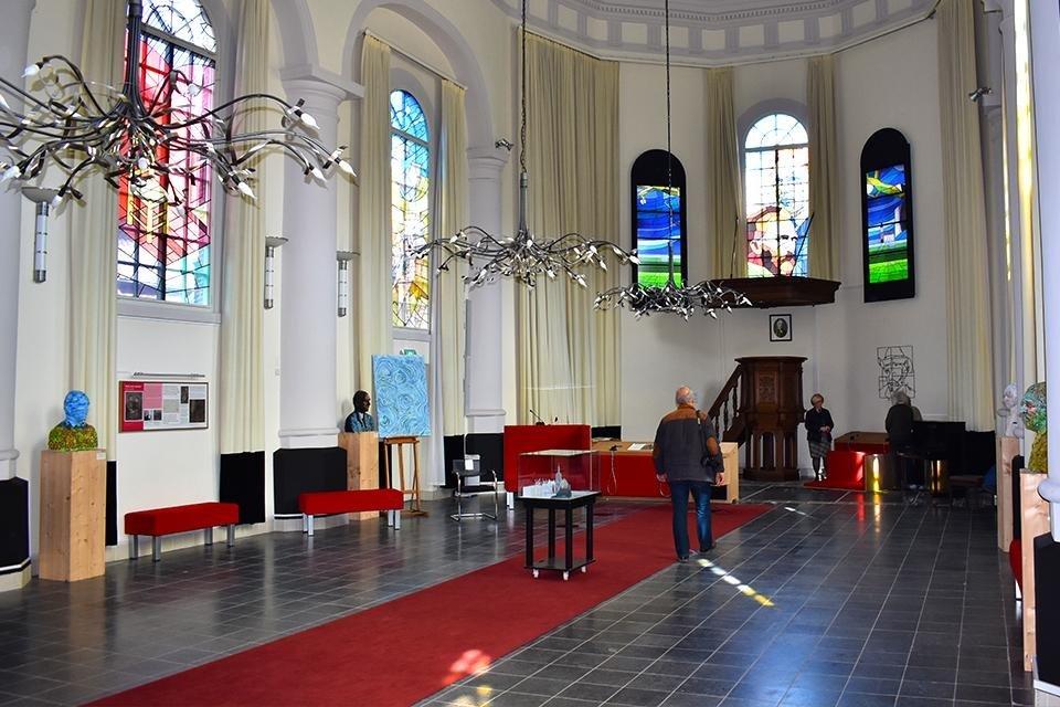 De Van Goghkerk in Etten, Nederland