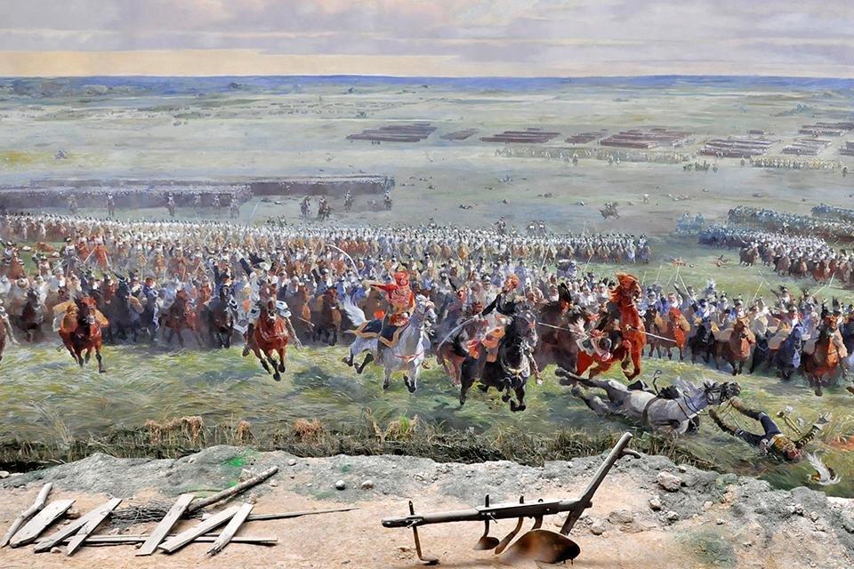Panorama van Waterloo, België