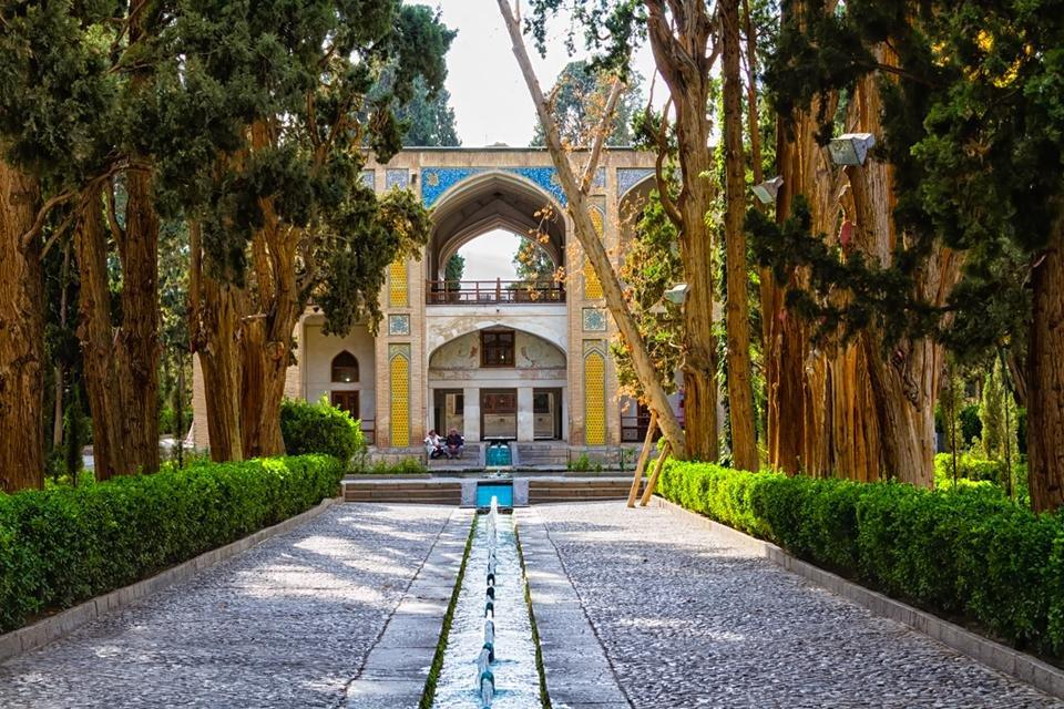 Bâgh-e Fin-tuinen in Kashan, Iran