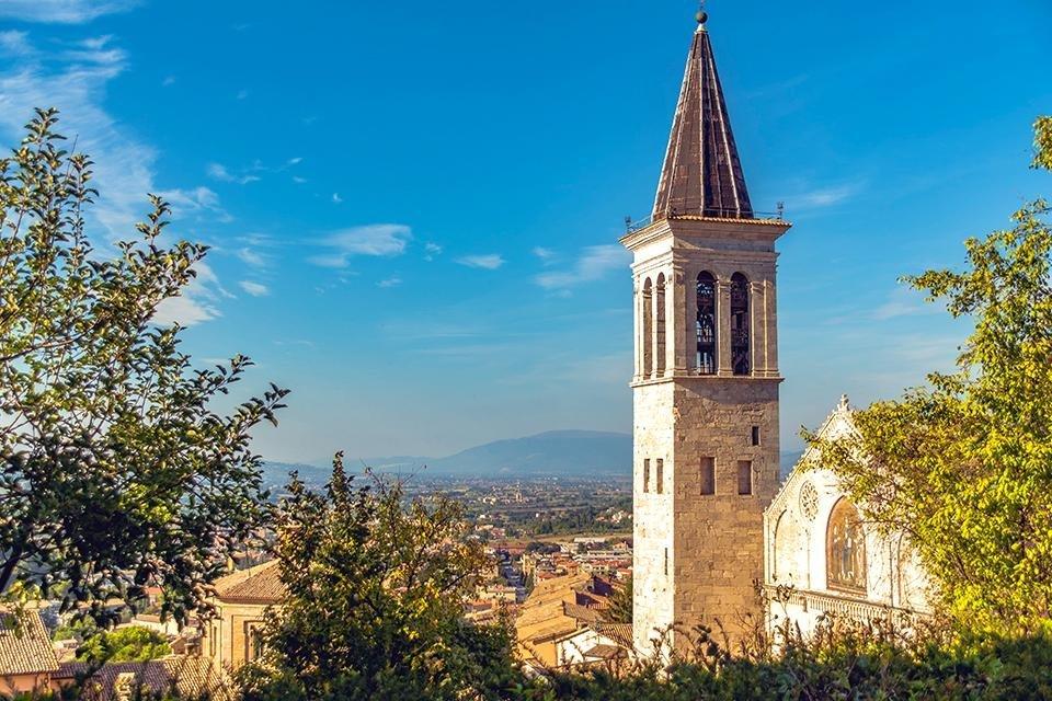 Spoleto, Umbrië, Italië