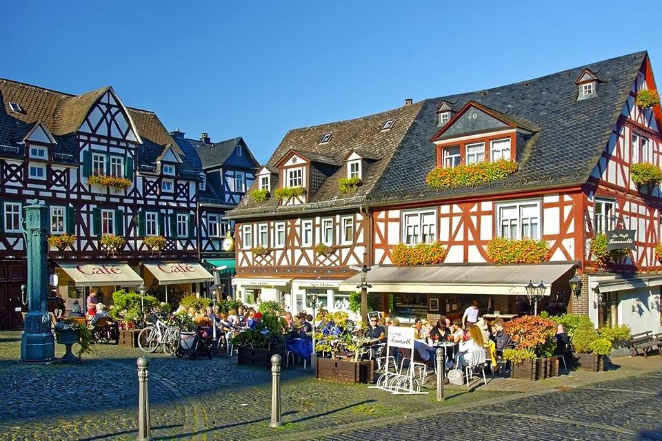 Altstadt van Braunfels, Duitsland