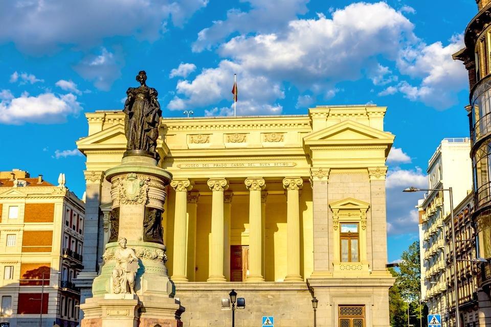 Prado in Madrid, Spanje