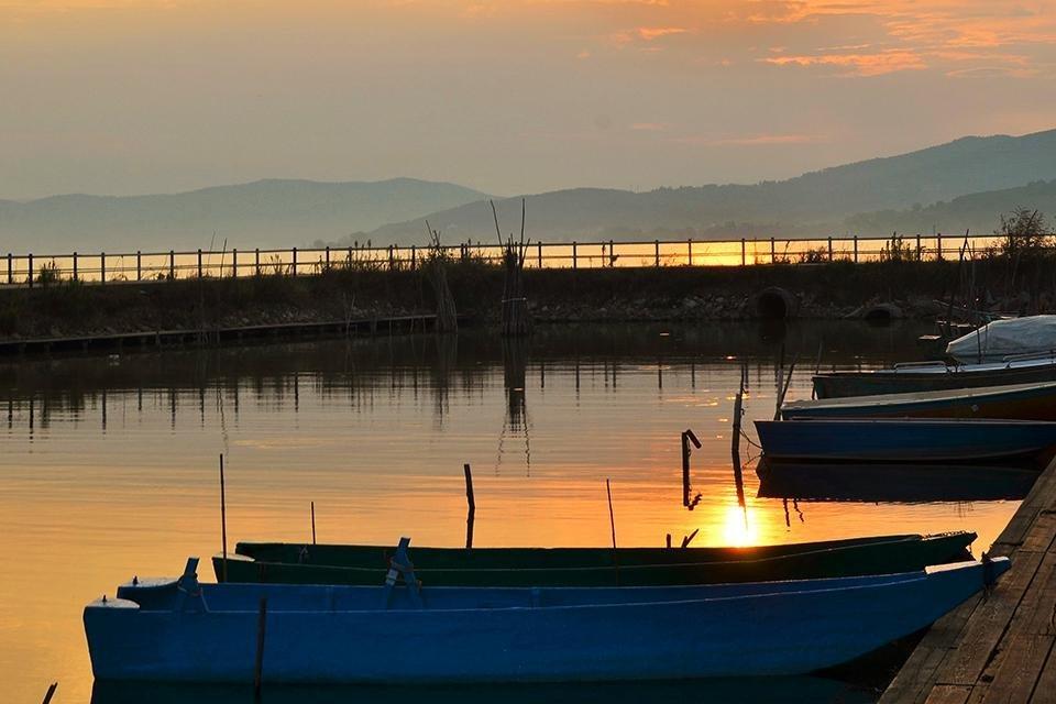 Lago di Trasimeno, Umbrië, Italië