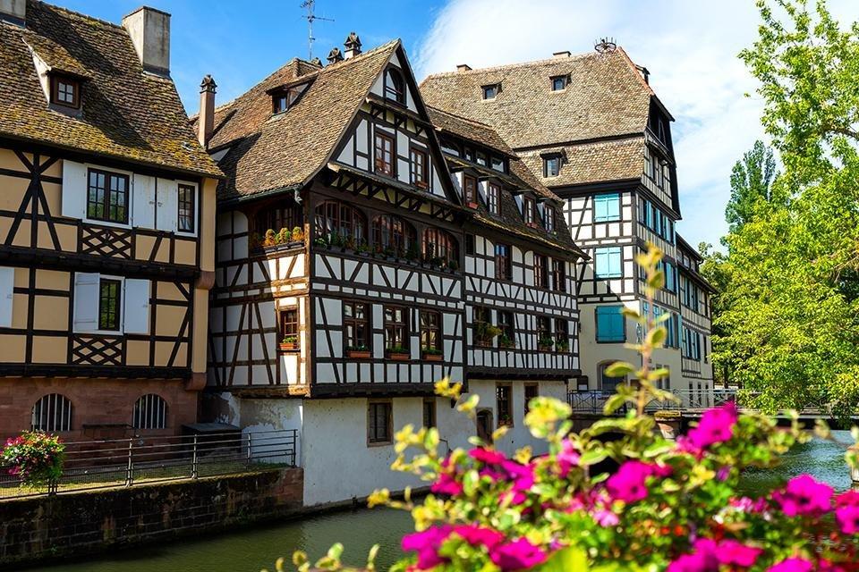 La Petit France, Straatsburg, Elzas, Frankrijk