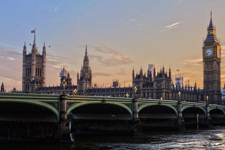 Houses of Parliament, Londen, Engeland