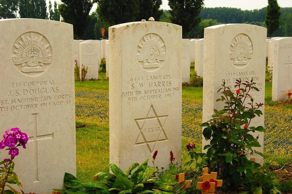Tyne Cot Cemetery, België