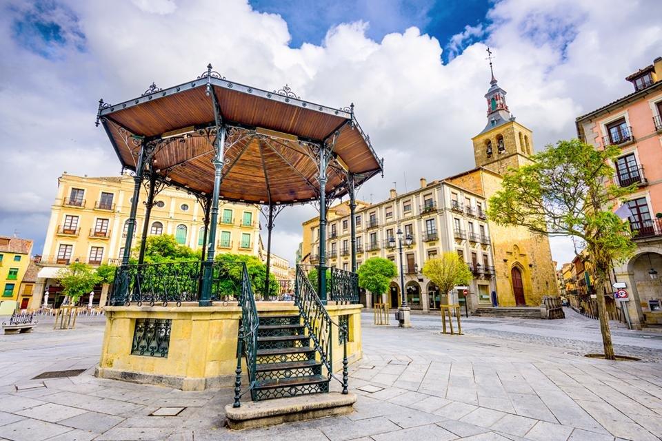 Segovia. Spanje
