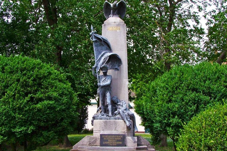 Monument voor de Slag bij Wagram, 1809, Oostenrijk