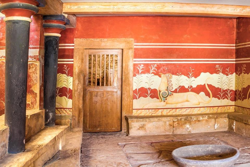 Knossos, Kreta, Griekenland