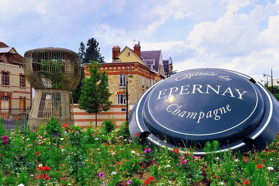 Épernay, Champagne, Frankrijk