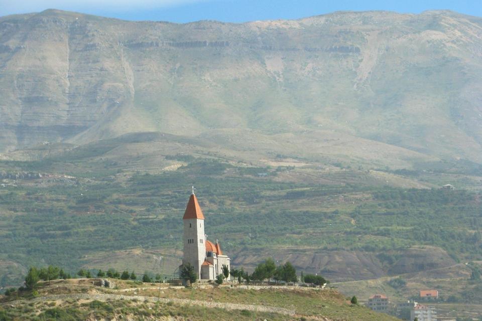 Qadisha-vallei in Libanon