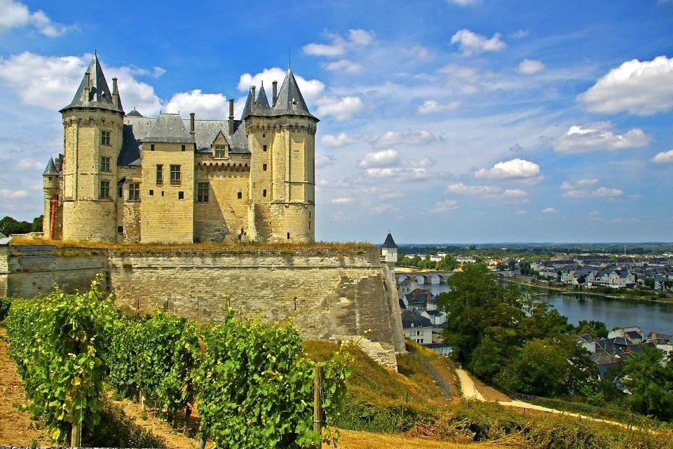 Saumur, Loire, Frankrijk